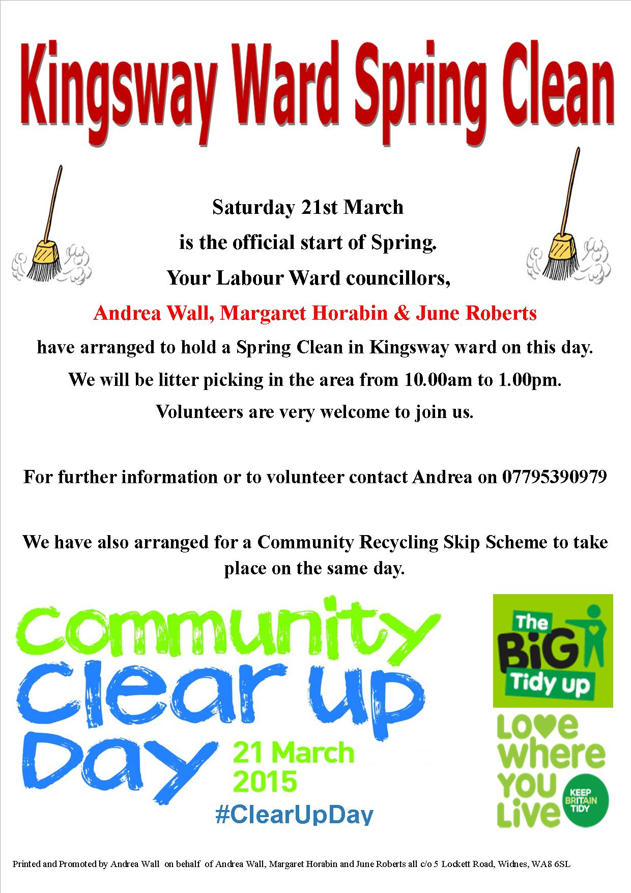 Kingsway Spring Clean