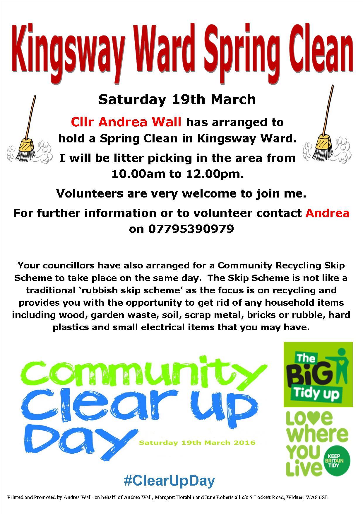 Kingsway Spring Clean 2016